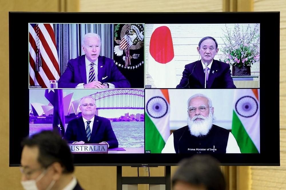 چین کو روکنے کے لیے امریکا نے ایک غیر رسمی اتحاد بنا رکھا ہے جو مستقبل میں باضابطہ اتحاد کی شکل اختیار کرسکتا ہے اور یہ اتحاد کواڈ کے نام سے ہے—اے ایف پی