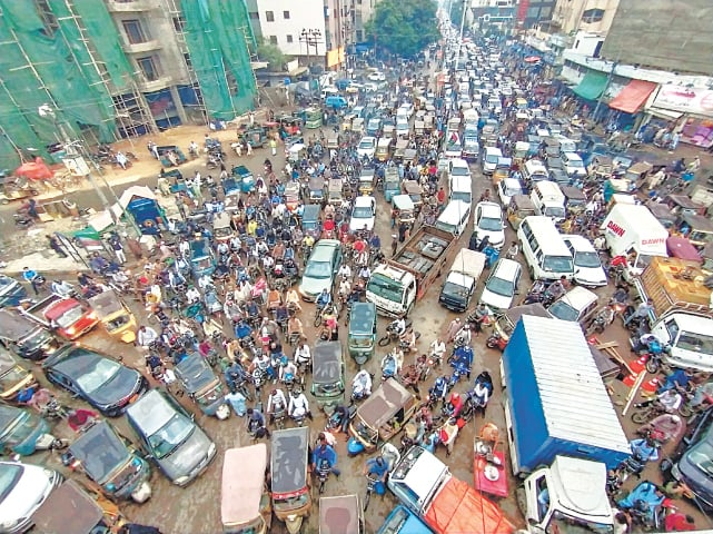 Karachi is in desperate need of a sustainable urban mobility plan | Fahim Siddiqi/White Star