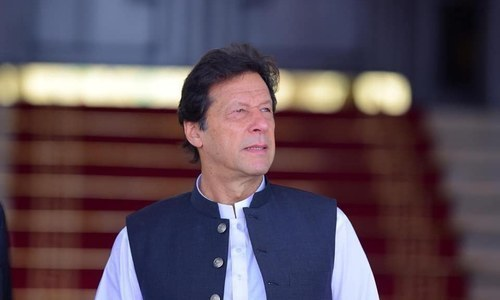 Prime Minister Imran Khan. — Photo courtesy of PM Imran Facebook page