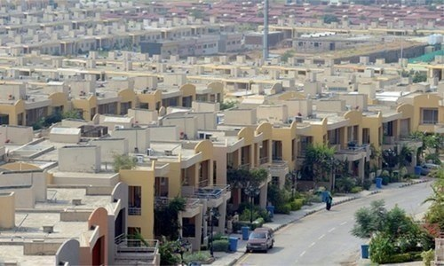 The apartments will be allotted to displaced persons of katchi abadis through the CDA and the beneficiaries of Naya Pakistan Housing and Development Authority through auction. — File
