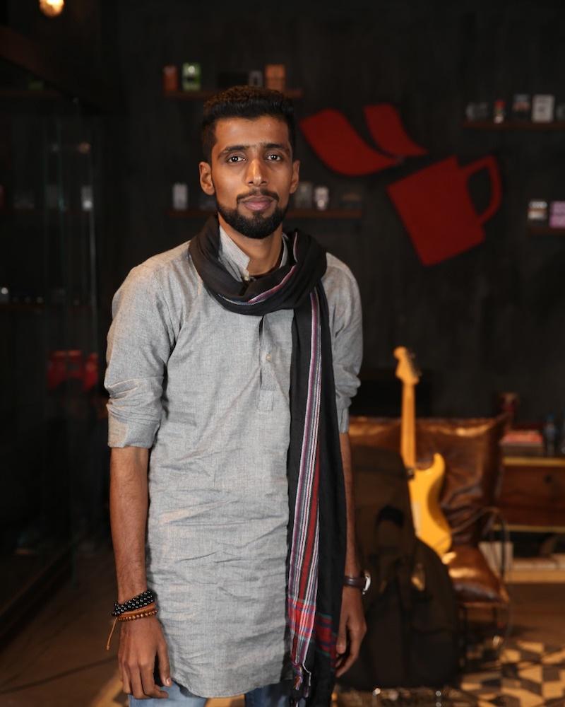 Adil Baluch — Photo: Nescafé Basement