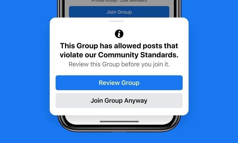 فیس بک گروپس میں بڑی تبدیلیاں لانے کا اعلان