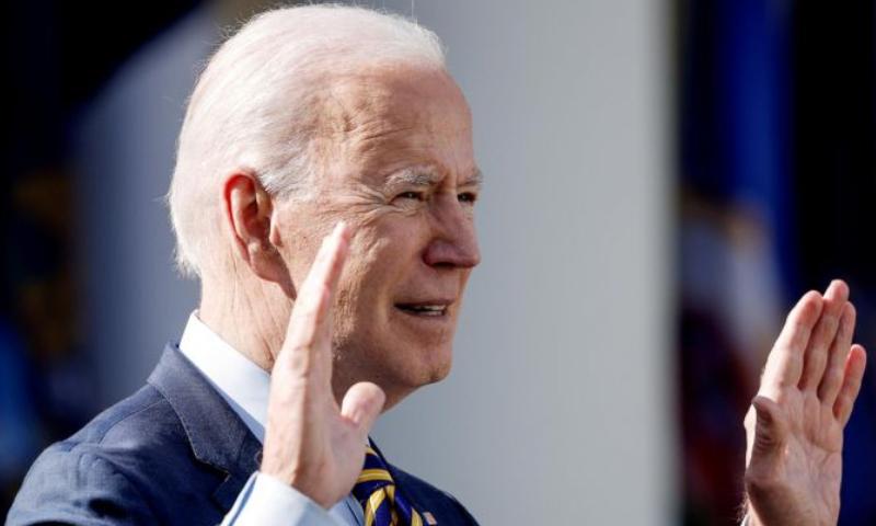 امریکی صدر نے پیوٹن کو قاتل قرار دے دیا — فوٹو: رائٹرز