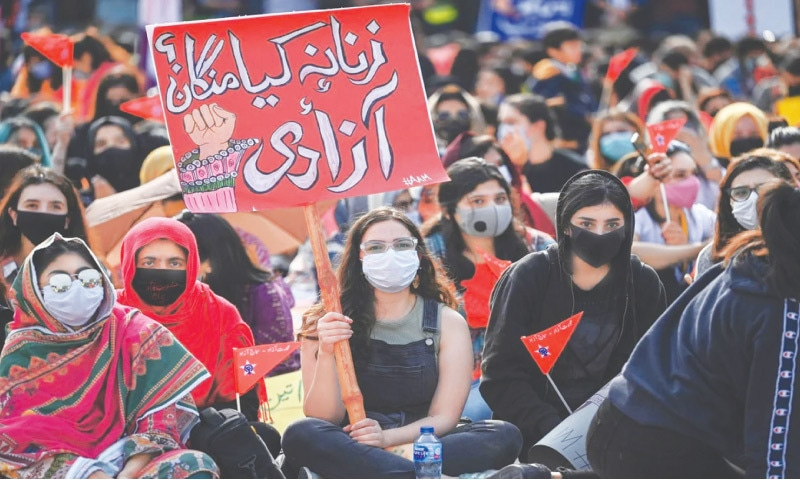 Protesters in Islamabad | AFP