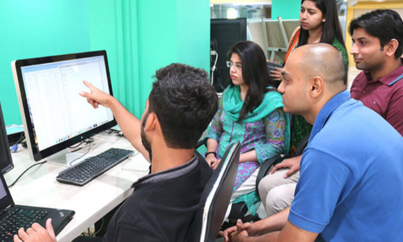 10Pearls University has launched an e-learning portal with more than 100 courses related to technology and management. — Photo courtesy 10Pearls University