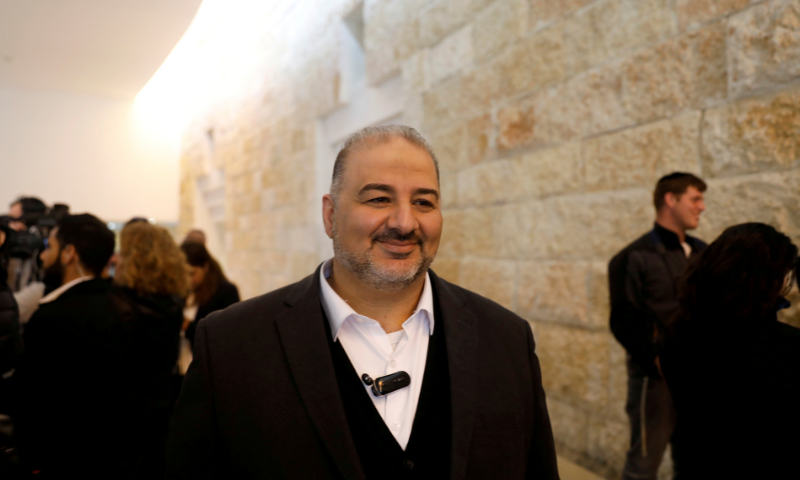 Mansour Abbas, who heads the Raam faction, attends a hearing Israel's Supreme Court in Jerusalem in this file photo. — Reuters