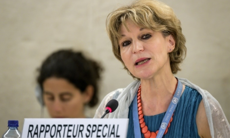 "UN special rapporteur Agnes Callamard became a bugbear for the Saudi authorities when she reported there was ""credible evidence"" top officials, including Crown Prince Mohammed bin Salman, were liable for the 2018 murder of dissident Jamal Khashoggi. — AFP/File"