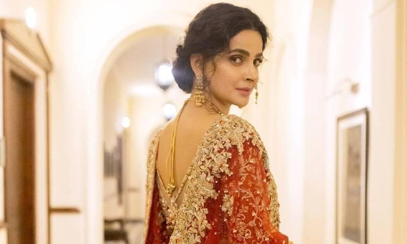 صبا قمر نے ایک انٹرویو میں بتایا تھا کہ وہ عظیم خان سے شادی کریں گی—فائل فوٹو: انسٹاگرام