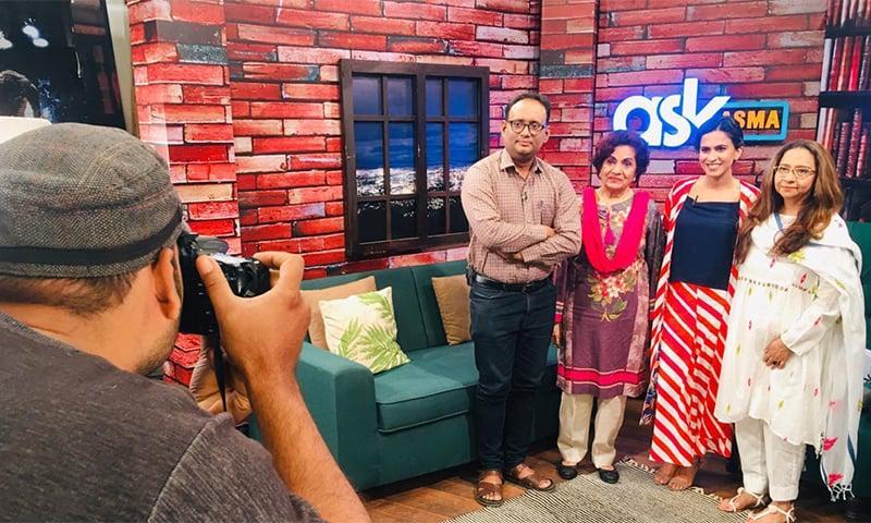 کچھ عرصہ قبل ڈان ٹی وی کے شو میں حسینہ معین سے ملاقات ہوئی