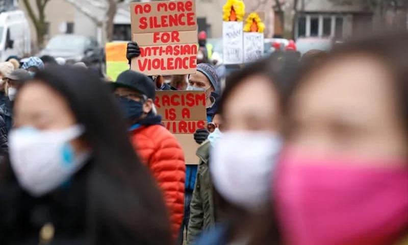 ایشیائی باشندوں پر تشدد و نسل پرستانہ حملوں کے خلاف امریکا بھر میں مظاہرے