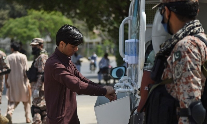 The district administration, on the recommendations of health department, ordered here on Sunday to impose smart lockdown in 32 areas of Peshawar to control spread of Covid-19 pandemic. — AFP/File
