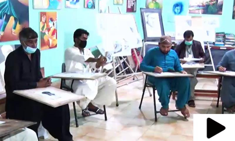 کراچی ڈسٹرکٹ جیل میں قیدیوں کو مصوری کی تربیت دی جانے لگی