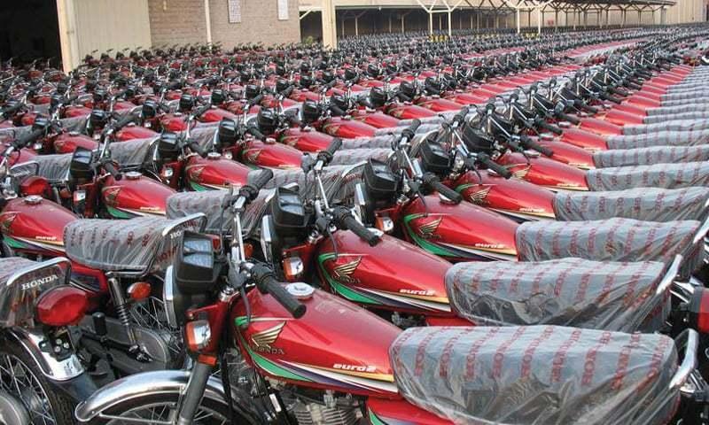 ہونڈا نے موٹر سائیکل کی قیمتوں میں اضافہ کردیا