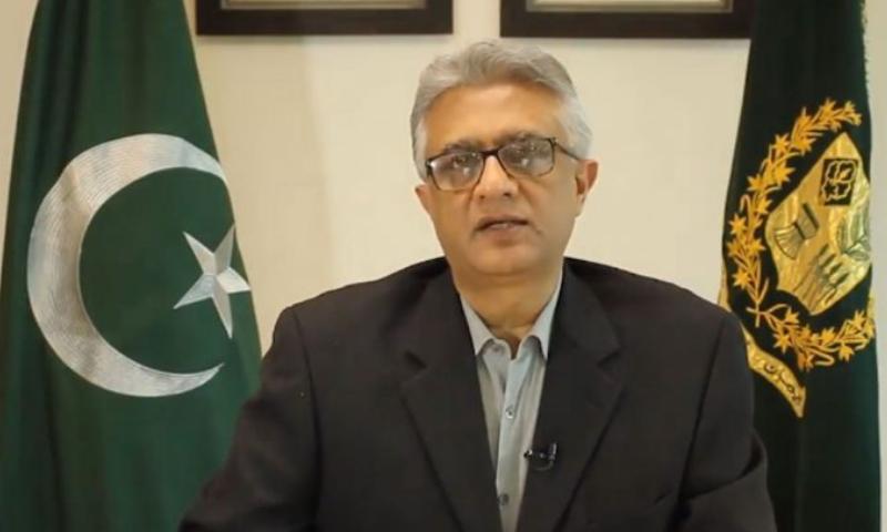 ڈاکٹر فیصل سلطان نےکہا کہ 8 لاکھ افراد نے رجسٹریشن کروائی—فوٹو: اے پی پی