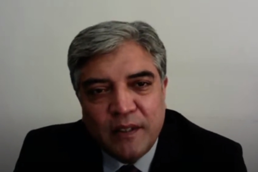 Pakistan's Ambassador to the Russian Federation Shafqat Ali Khan has said that Islamabad and Moscow have gradually built strategic trust. — Screenshot courtesy: YouTube