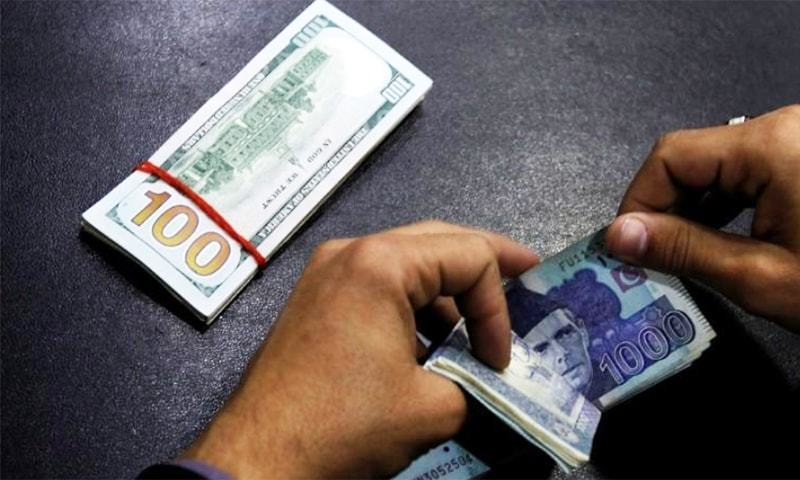The upsurge of the rupee continued at the interbank market as the rupee appreciated against the dollar in early trade on Wednesday, gaining 49 paisa versus yesterday's close. — Reuters/File