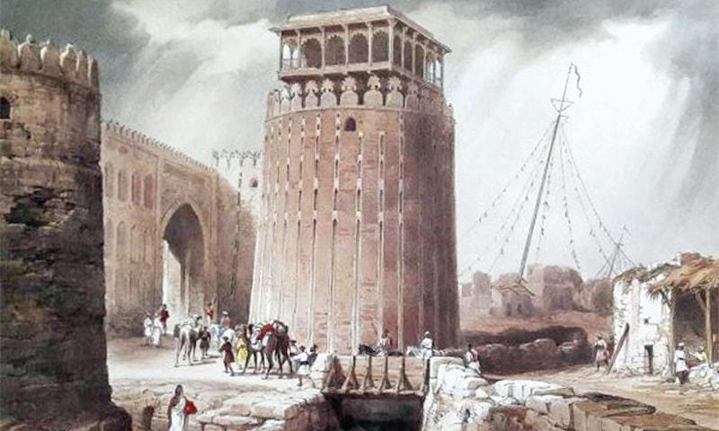 قلعہ حیدرآباد کا اندرونی منظر، تصویر— محکمہ ثقافت سندھ