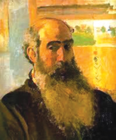 Self-Portrait (1873), Camille Pissaro