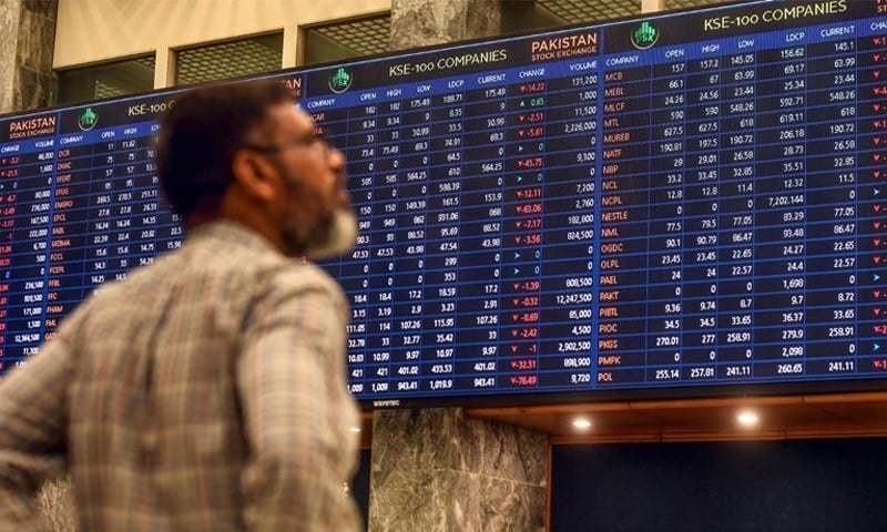 The market has been unable to gain a firm foothold after it slipped from the recent high of 47,000 points. — AFP/File