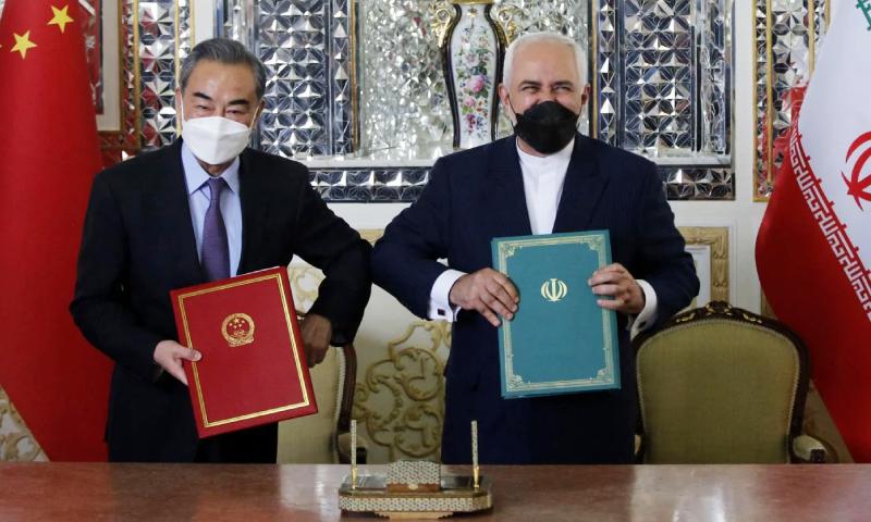 ایران، چین معاہدہ خطے میں بھارت، امریکا کے مشترکہ مفادات کو نقصان پہنچائے گا، ماہرین