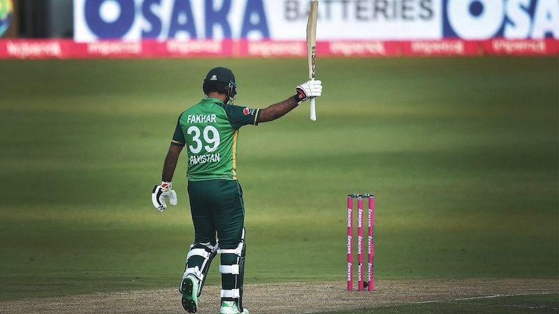 South Africa held out to level the ODI series 1-1 with a 17-run win over Pakistan on Sunday that was much closer than it should have been because of Fakhar Zaman's brilliant 193 in a losing effort. — Photo via PCB Twitter