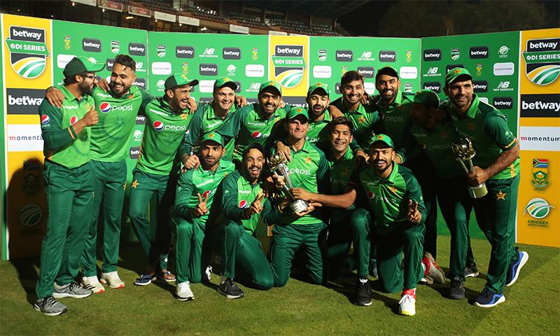 جنوبی افریقہ کیخلاف فتح، ورلڈ کپ سپر لیگ میں پاکستان کی دوسری پوزیشن