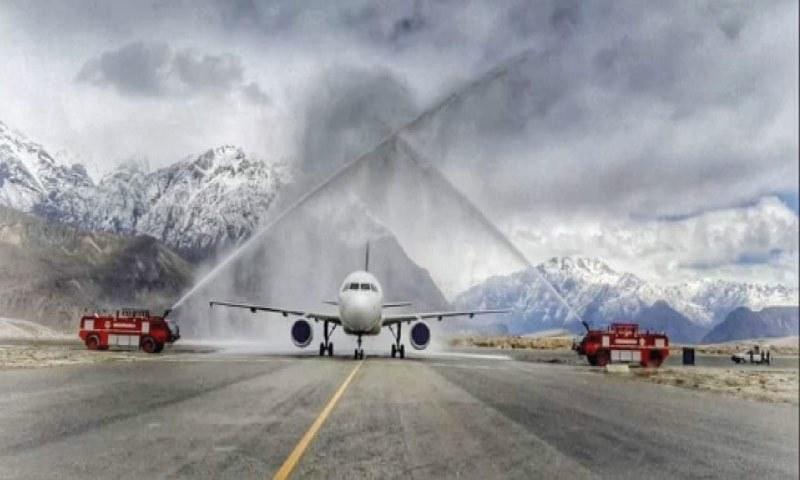 پی آئی اے کا لاہور سے اسکردو ایئرپورٹ کیلئے پروازوں کا آغاز