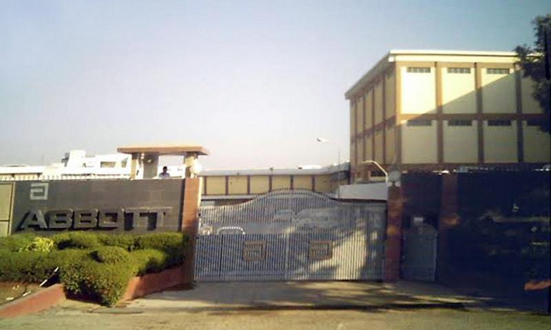 قائدآباد پر ایبٹ کمپنی