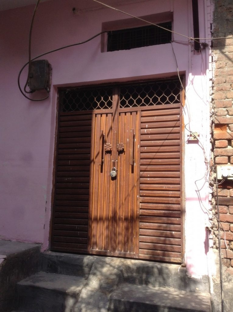 Zubaida Begum's former house in Lane no 13. Photo by author