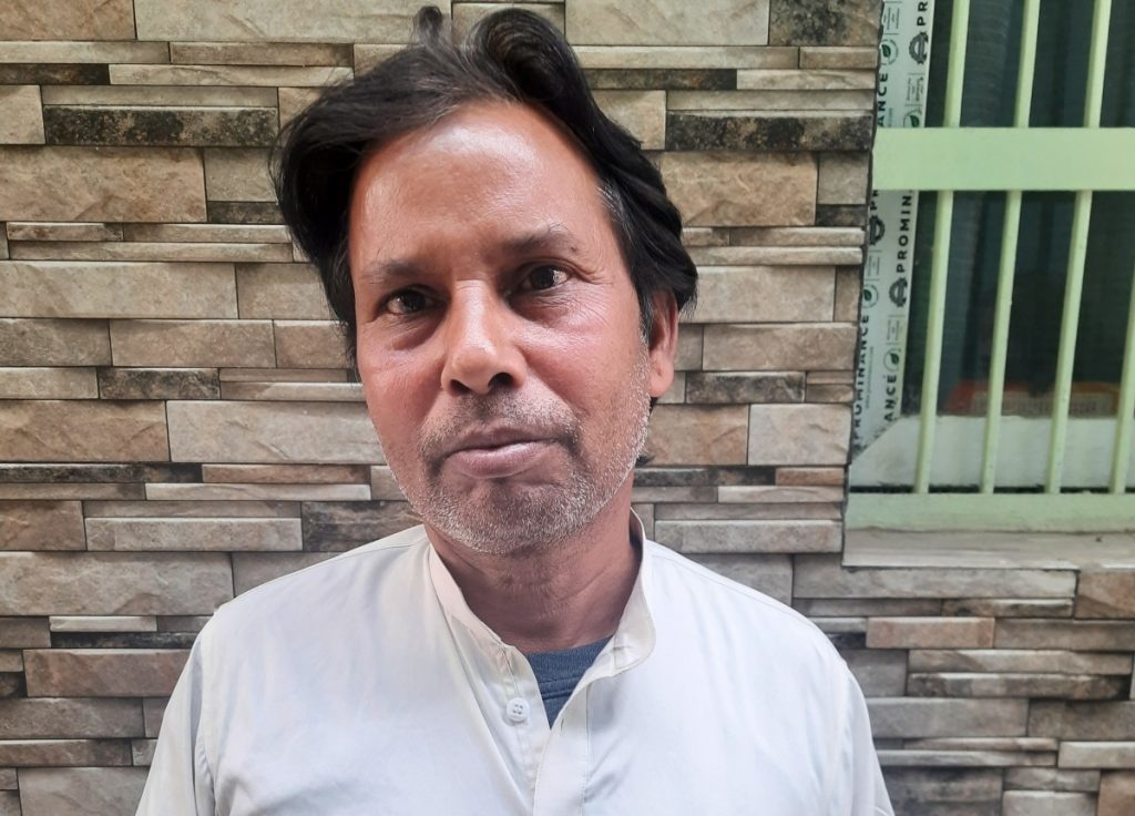 Jameel Ahmed, Zubaida Begum's neighbour and resident of the lane who also sold his house and moved out of the lane. Photo by author