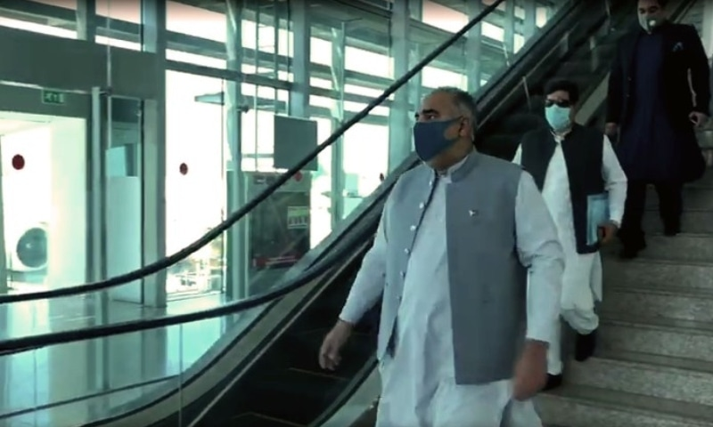 The visit of Speaker National Assembly Asad Qaiser to Afghanistan was postponed due to the closure of the Kabul airport at the last moment, citing security reasons. — APP