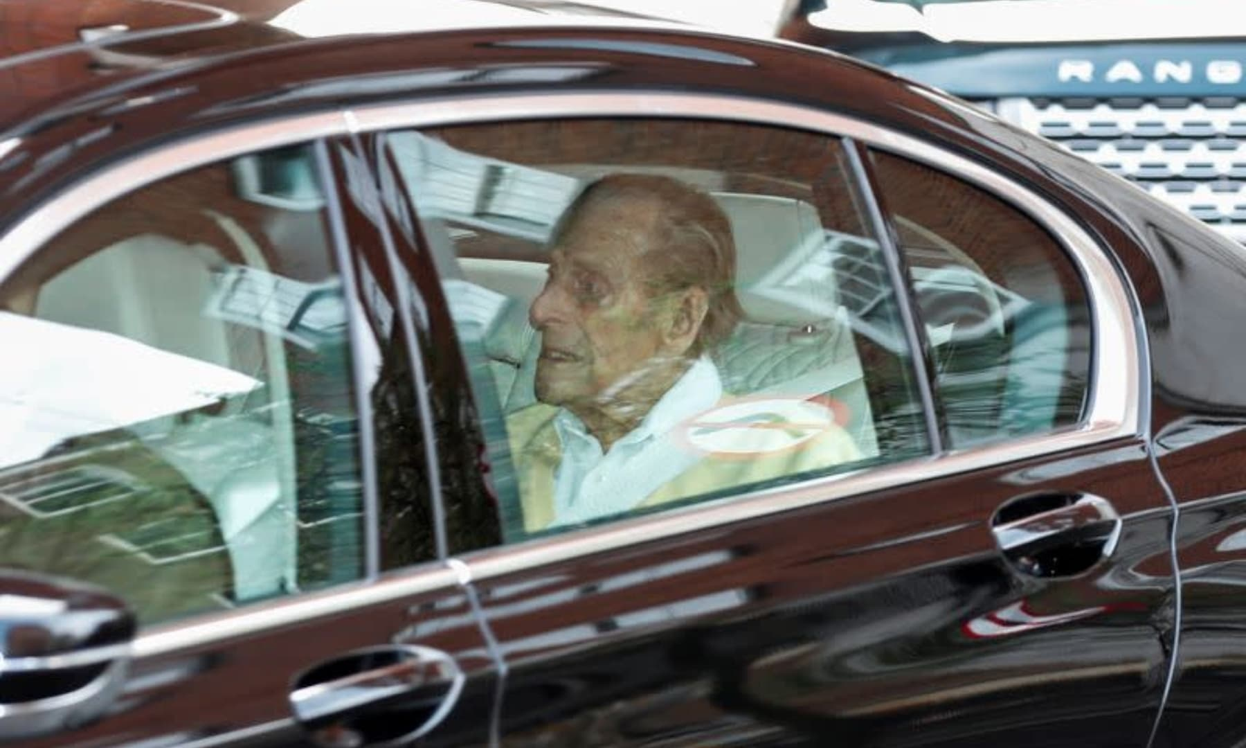 Britain's Prince Philip leaves King Edward VII's Hospital in London, Britain, March 16. — Reuters