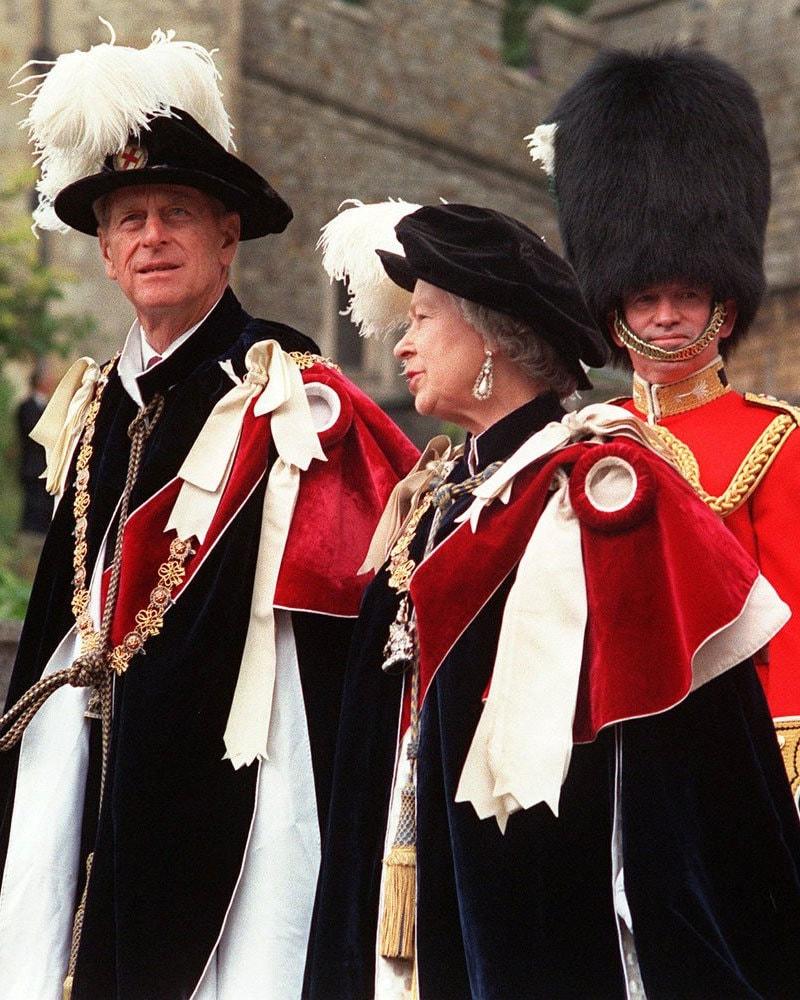 شہزادہ فلپس 73 سال سے ملکہ برطانیہ کے ساتھ مرتے دم تک رہے—فائل فوٹو: اے پی