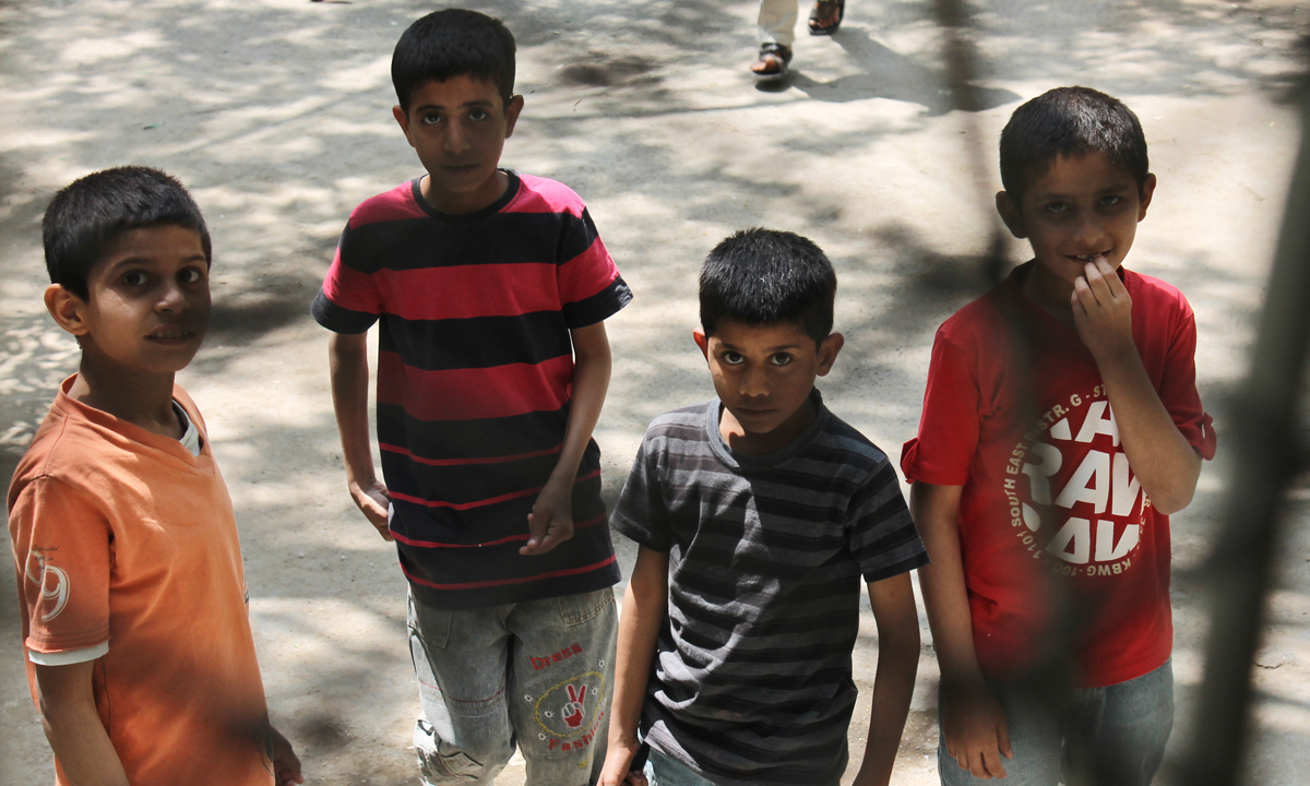 This file photo shows a group of boys at the orphanage. — Photo courtesy Ali Ahmed/File