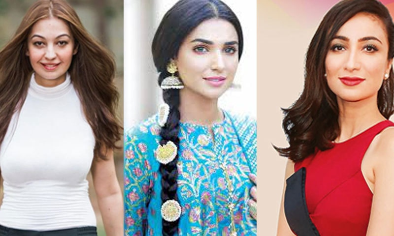 اداکارہ آمنا الیاس، ربیا چوہدری اور انوشے اشرف نے وزیر اعظم کے بیان کی مذمت کی—فائل فوٹو: انسٹاگرام/ فیس بک