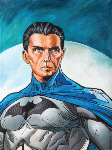 'Quaid in Gotham City' by Adnan Mairaj Malik