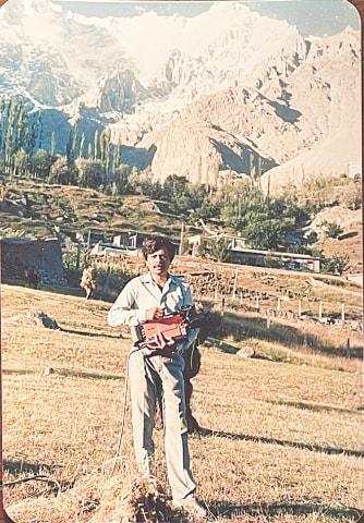 Pervez Bashir (PB) during his younger days