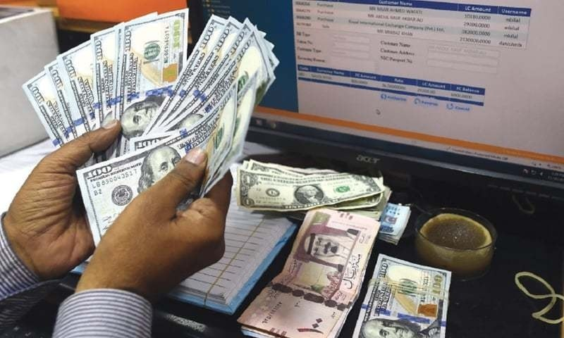 Currency dealers say higher forex deposits in banks are because of very low consumption in the domestic market. — AFP/File
