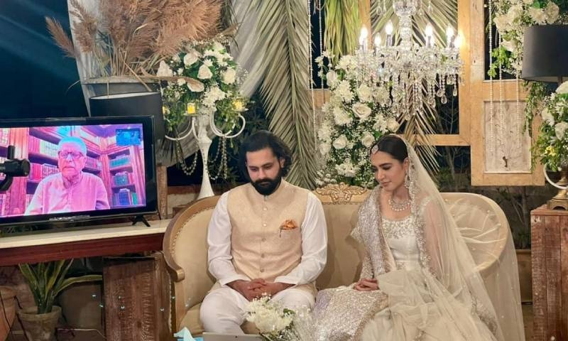 منشا پاشا، جبران ناصر رشتہ ازدواج میں منسلک