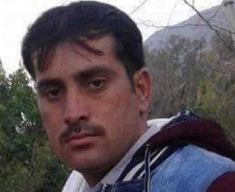 Journalist Waseem Alam was shot dead by unidentified persons in Karak district of KP on Saturday evening. — Photo provided by author