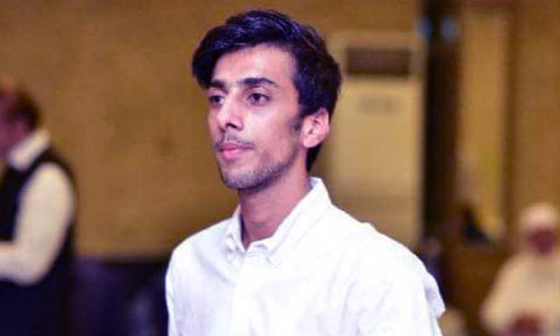 Osama Satti was shot dead by police officials in Islamabad on Jan 2. — DawnNewsTV/File