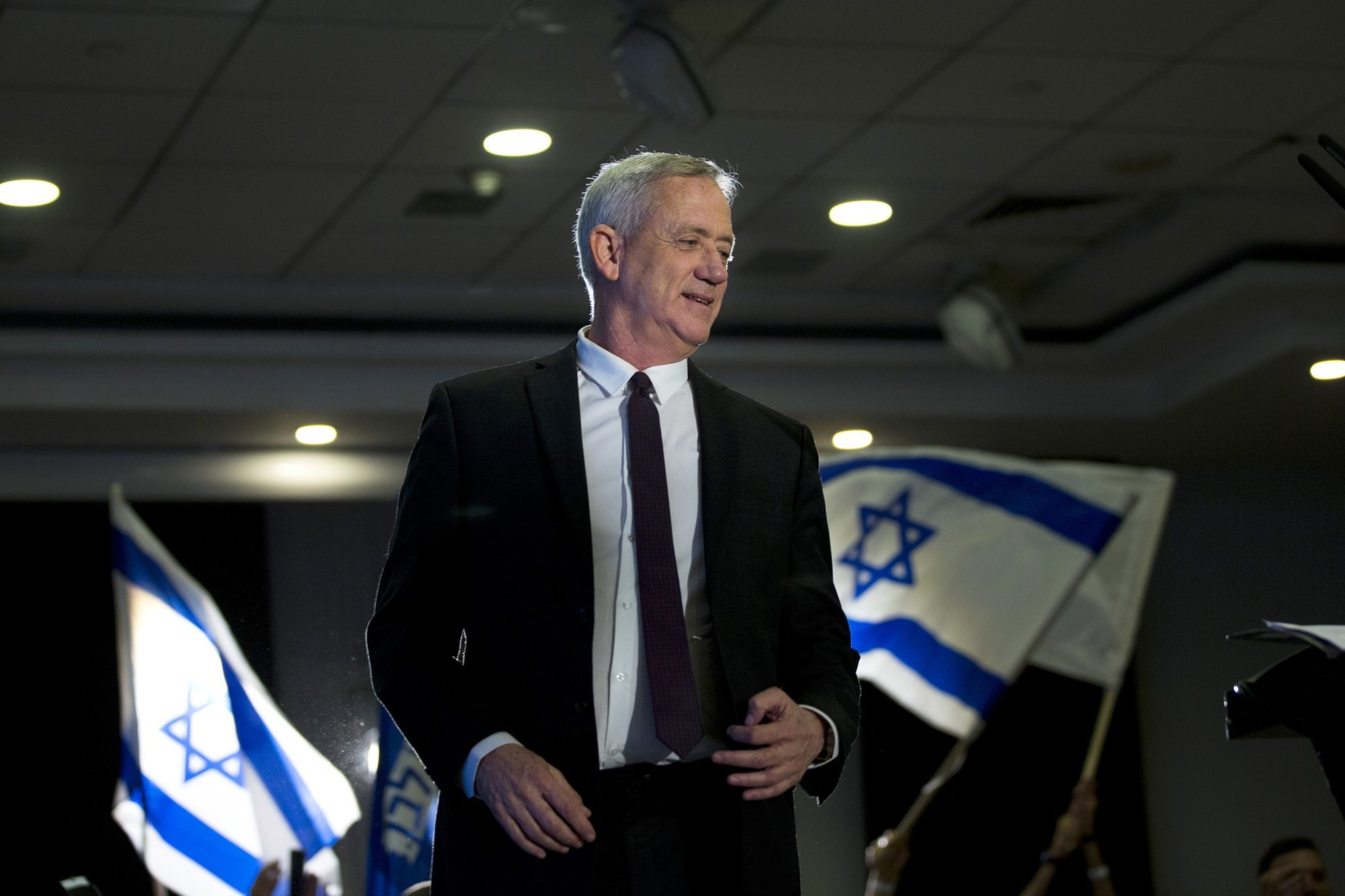 Israel's defence minister Benny Gantz pledged on Sunday to cooperate with the United States on Iran, voicing hope that Israeli security would be safeguarded under any renewed Iranian nuclear deal that Washington reaches. — AP/ File