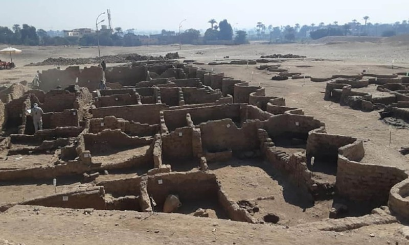 قدیم مصر کا 3 ہزار سال سے گمشدہ شہر دریافت