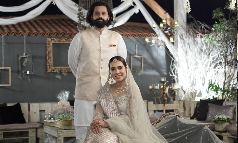 منشا پاشا اور جبران ناصر نے شادی کی تصاویر شیئر کردیں
