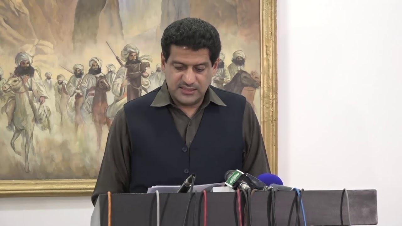 صدارت صوبائی وزیر خزانہ میر ظہور بلیدی نے کی — فوٹو: ڈان نیوز