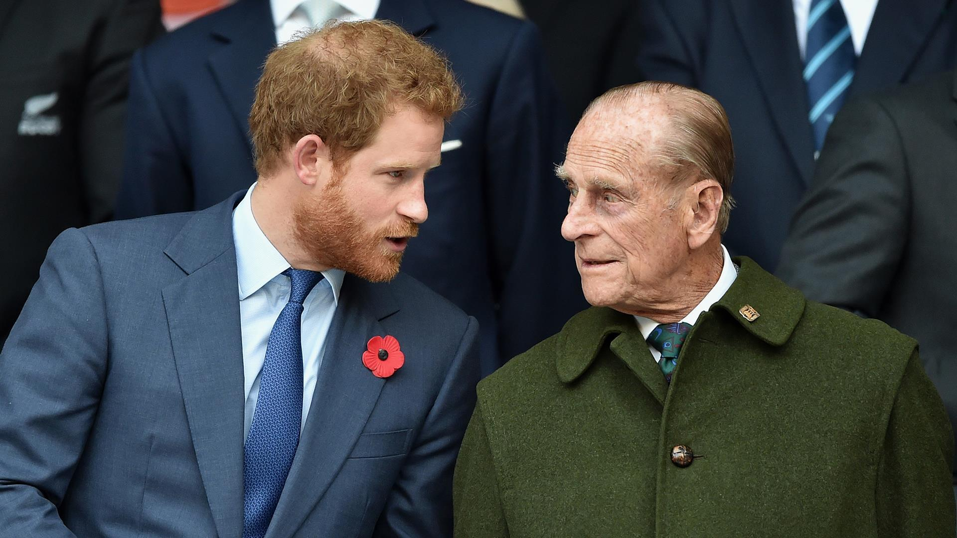 Prince Harry, whose explosive interview alongside his wife Meghan plunged the royal family into its biggest crisis in decades, has arrived back in Britain for Prince Philip's funeral. — Photo via Yahoo! News