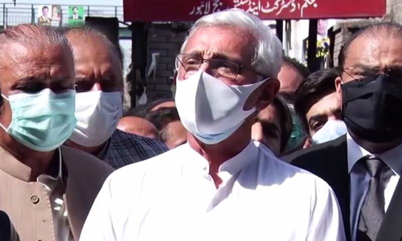 This file photo shows estranged PTI leader Jahangir Tareen. — DawnNewsTV/File