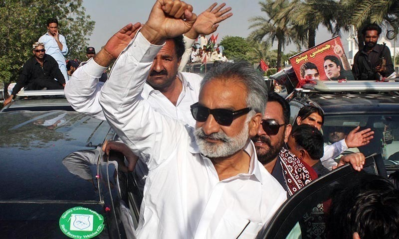 This file photo shows former home minister Dr Zulfikar Ali Mirza. —Online/File