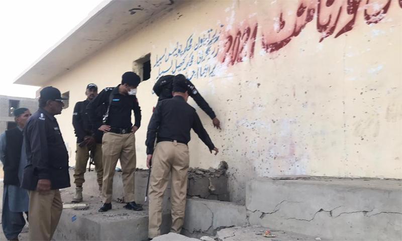 بلوچستان: حب میں فٹبال میچ کے دوران دھماکا، 12 افراد زخمی