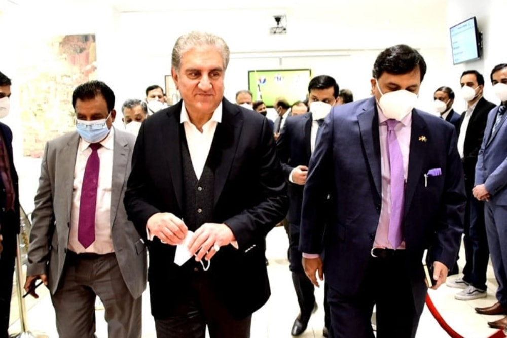 Pakistan, in a bid to tap economic potential with Germany, will soon open a consulate in Munich, Foreign Minister Shah Mahmood Qureshi said. — Photo courtesy Radio Pakistan